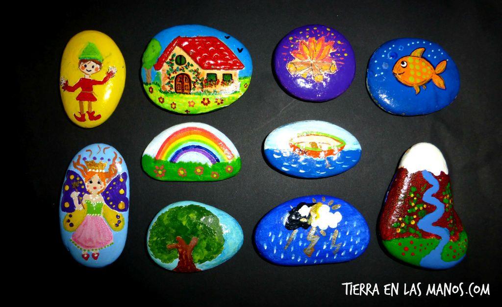 8 formas de usar las piedras de contar historias y sus for Dibujo de una piedra para colorear