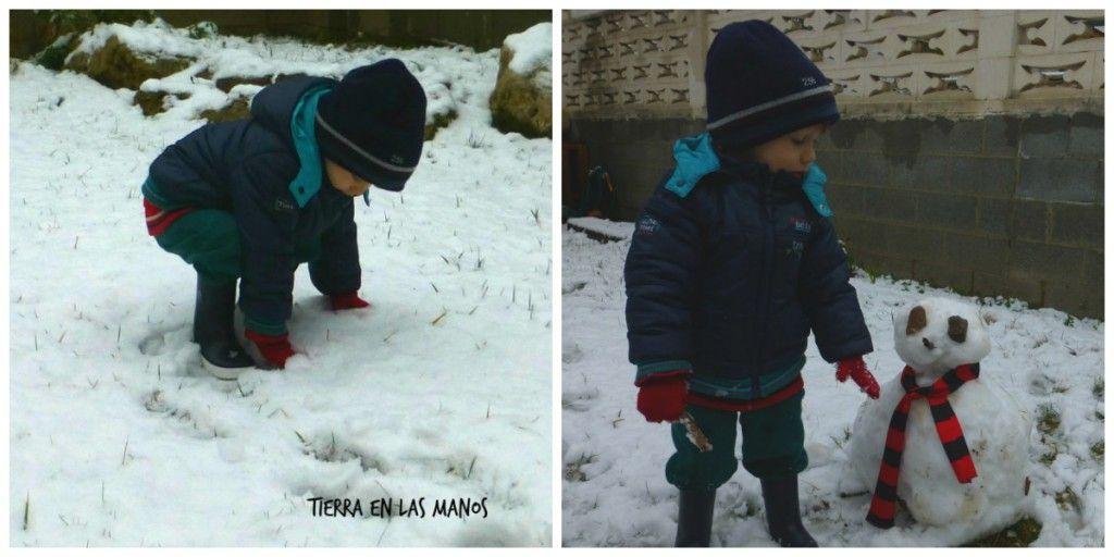 collage jugar afuera cuando llueve o hace frio