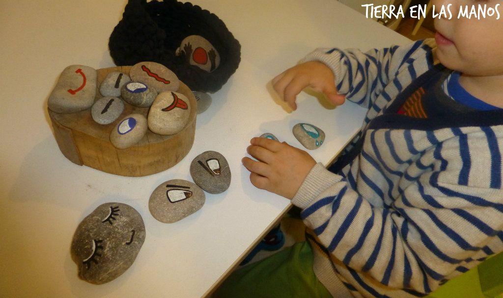 creando caras con piedras 4