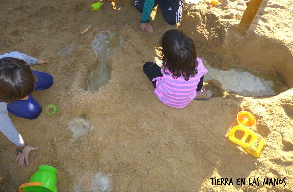 Cómo preparar un arenero para niños 1