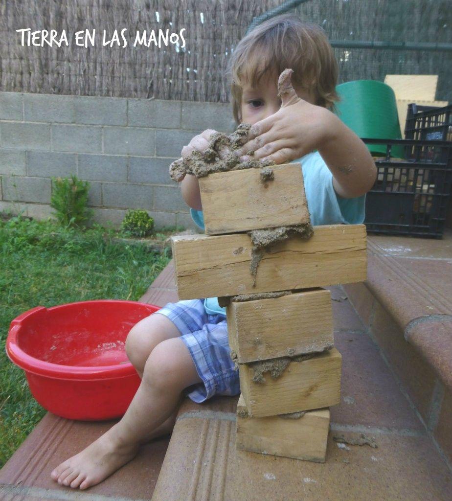 construcción con bloques