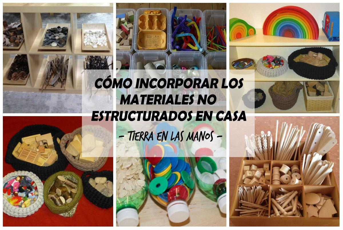 C mo incorporar los materiales no estructurados en casa - Casa de materiales ...