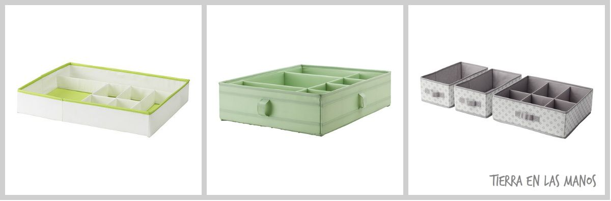 C mo incorporar los materiales no estructurados en casa - Cajas de plastico ikea ...