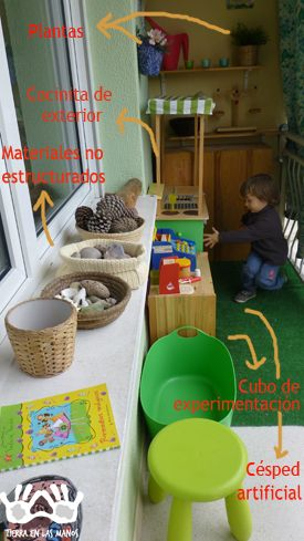 Ideas Para Preparar Un Balcón O Terraza Para Niños