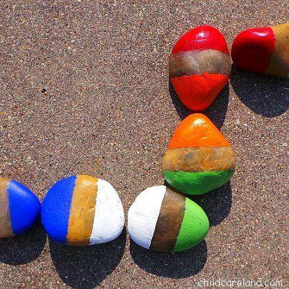 juegos con piedras - domino