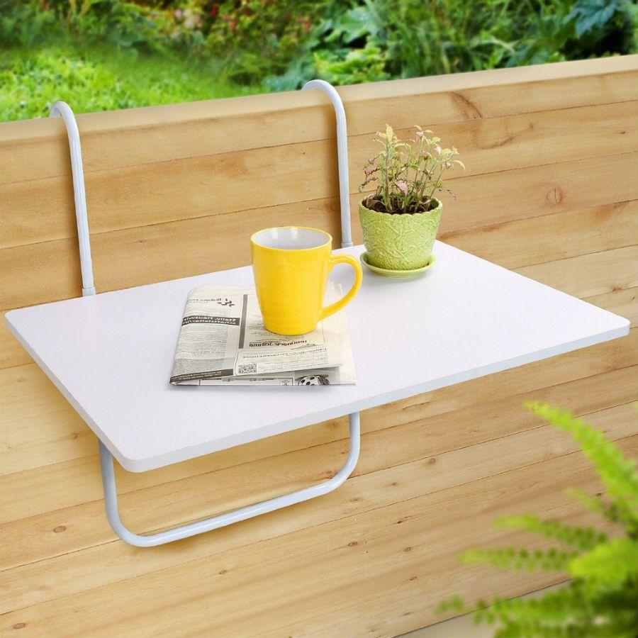 mesa plegable balcón