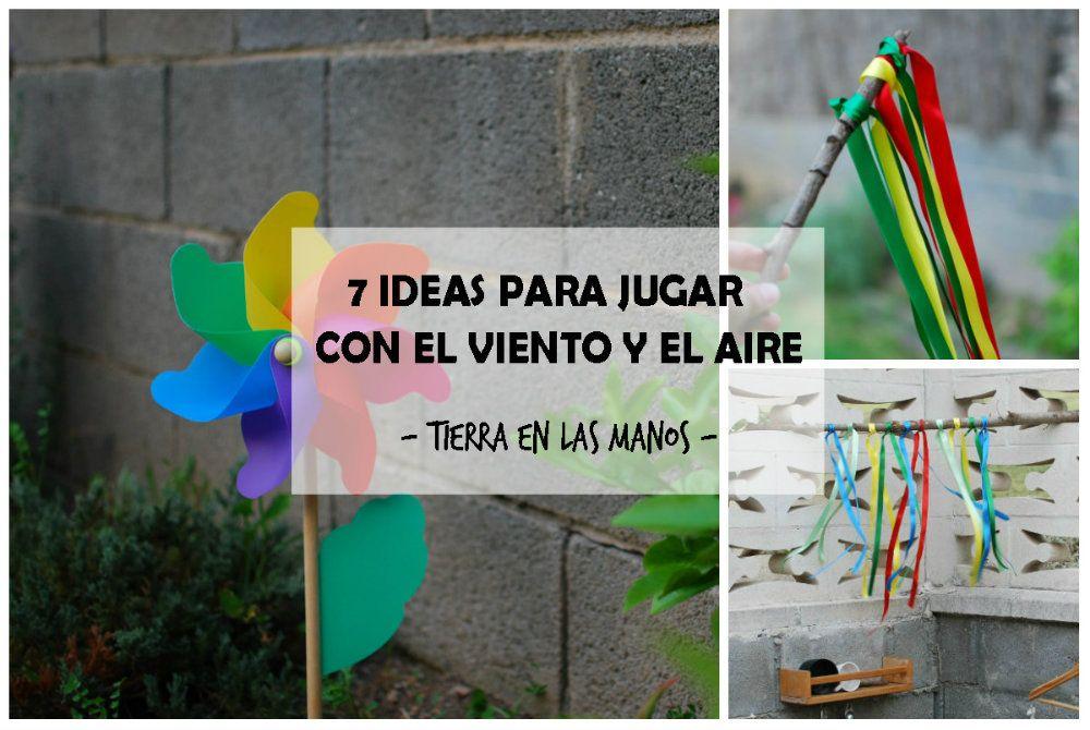7 ideas para jugar con el viento y el aire tierra en las for Actividades para jardin infantil