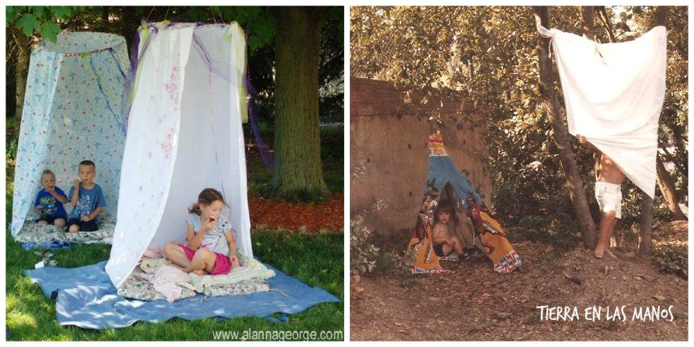 cabañas niños jardín