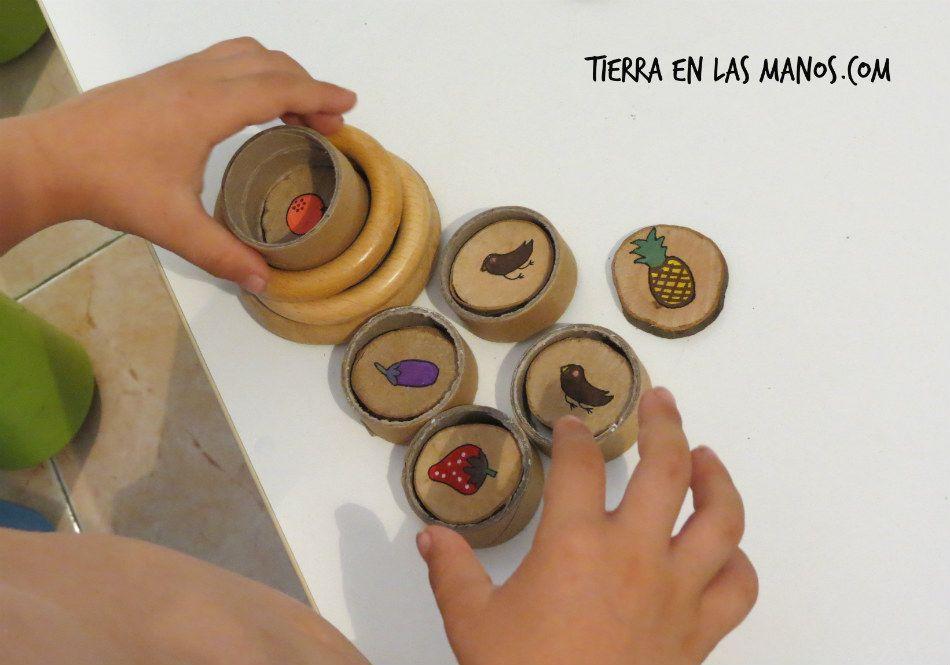 juego libre - construcciones rodajas troncos