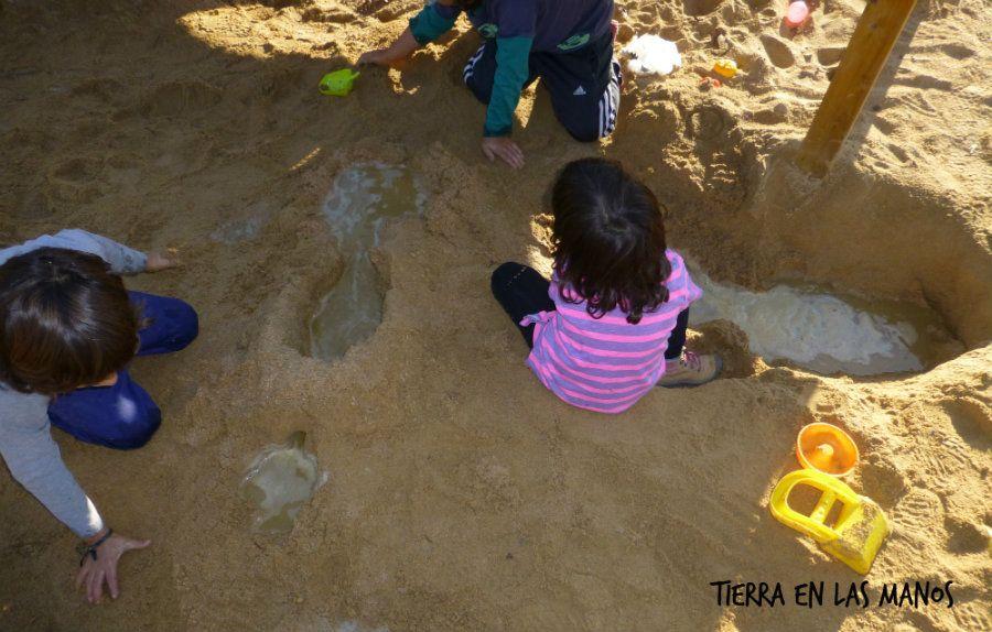 C mo hacer r os y circuitos de agua diy tierra en las manos for Parrilla de actividades casa del agua