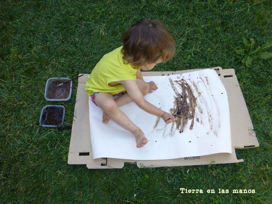 pintar con tierra 5