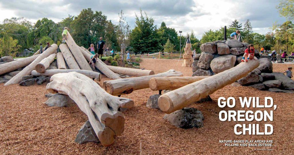 Parques infantil natural Oregon