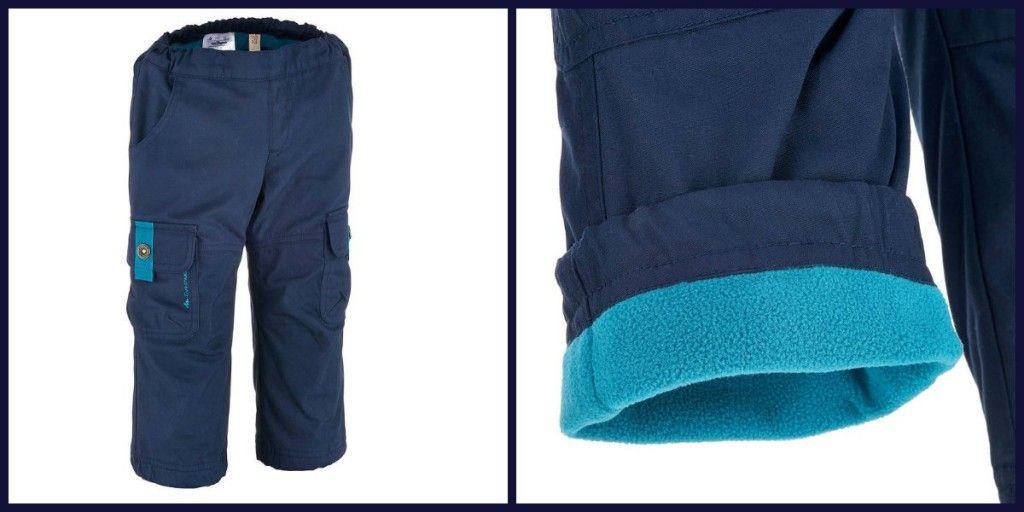 pantalon forro polar decathlon