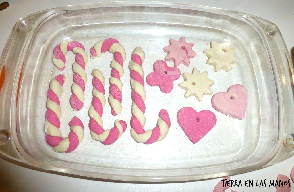 adornos navideños con pasta de sal 4