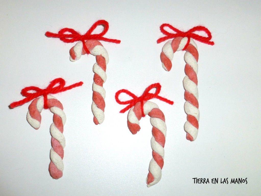 candy canes adorno navidad 2