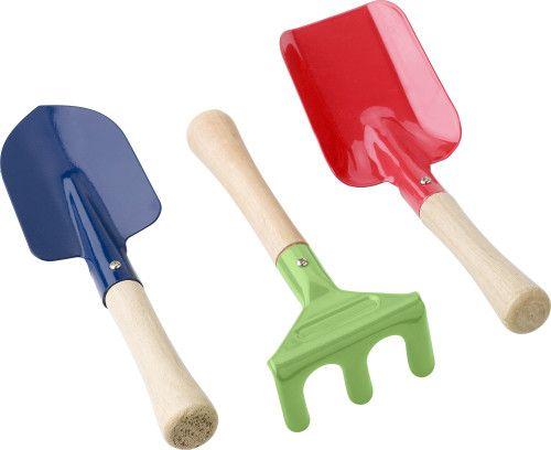herramientas de jardín para niños