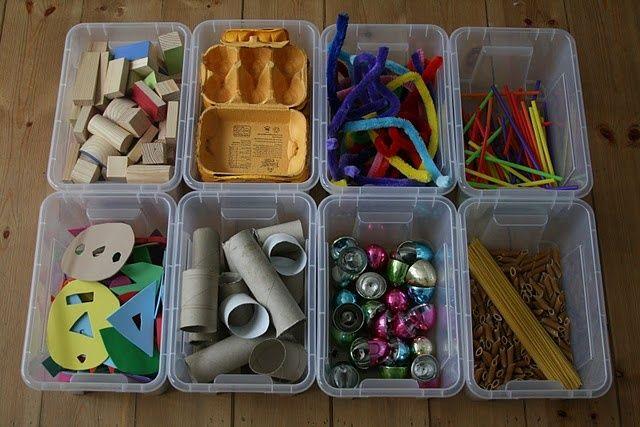 Cajas plástico The imagination tree