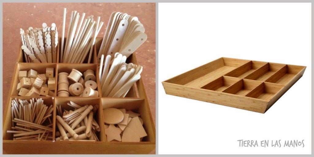 caja materiales no estructurados