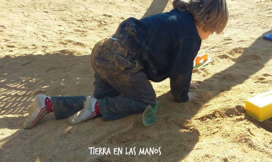 ensuciarse es bueno para desarrollo y aprendizaje niños